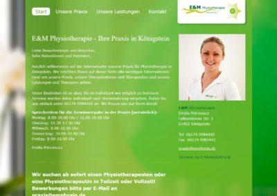 E&M Physiotherapie, Königstein