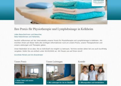 Physiotherapie Michel und Brandmeier, Kelkheim